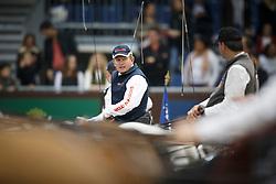 Exell Boyd, (AUS), Bajnok, Clinton Star, Conversano Cselentano, Conversano Poker <br /> FEI World Cup Driving <br /> Genève 2015<br /> © Hippo Foto - Dirk Caremans<br /> 13/12/15