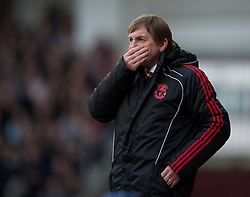 27.02.2011, Upton Park, London, ENG, PL, West Ham United vs Liverpool FC, im Bild Liverpool's manager Kenny Dalglish during the Premiership match against West Ham United at Upton Park, EXPA Pictures © 2010, PhotoCredit: EXPA/ Propaganda/ D. Rawcliffe *** ATTENTION *** UK OUT!
