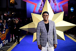 Samuel L. Jackson attending the Captain Marvel European Premiere held at the Curzon Mayfair, London. Picture date: Wednesday February 27, 2019. Photo credit should read: Ian West/PA Wire