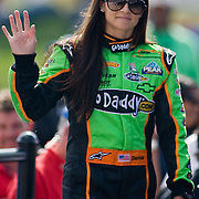Danica Patrick  during Introductions at The Nationwide Series race at Dover International Speedway in Dover Delaware. Kyle Busch wins the Nationwide Series final.