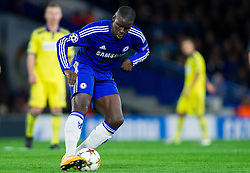 Kurt Zouma of Chelsea during football match between Chelsea FC and NK Maribor, SLO in Group G of Group Stage of UEFA Champions League 2014/15, on October 21, 2014 in Stamford Bridge Stadium, London, Great Britain. Photo by Vid Ponikvar / Sportida.com
