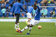 Idrissa Gana Gueye (Everton) before the Premier League match between Everton and West Ham United at Goodison Park, Liverpool, England on 30 October 2016. Photo by Mark P Doherty.