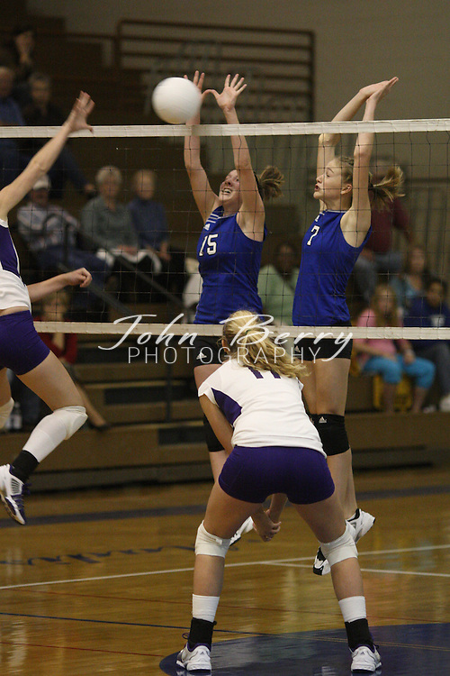 MCHS Varsity Volleyball .vs Strasburg.10/16/2007..