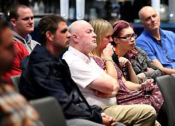 Bristol City head coach Lee Johnson, Bristol City chief operating officer Mark Ashton, Bristol City assistant head coach Dean Holden and Bristol City assistant head coach Jamie McAllister take part in a fans Q&A session - Mandatory by-line: Robbie Stephenson/JMP - 07/09/2017 - FOOTBALL - Ashton Gate - Bristol, England - Bristol City Fans Q&A