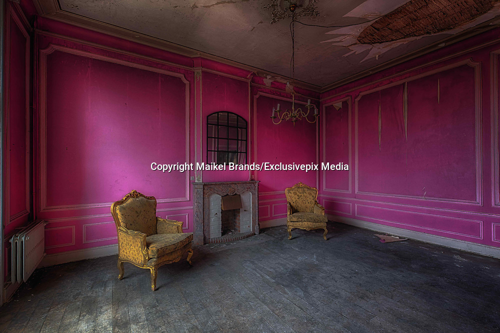 Stunning images of once grand Mansion in one of the most beautiful villages  in Italy now Abandoned after cannabis fire<br />