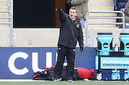 15 December 2013: Maryland head coach Sasho Cirovski. The University of Maryland Terripans played the University of Notre Dame Fighting Irish at PPL Park in Chester, Pennsylvania in a 2013 NCAA Division I Men's College Cup championship match. Notre Dame won the game 2-1.