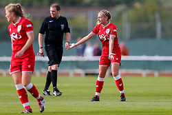 Charlie Estcourt of Bristol City Women - Mandatory byline: Rogan Thomson/JMP - 09/07/2016 - FOOTBALL - Stoke Gifford Stadium - Bristol, England - Bristol City Women v Milwall Lionesses - FA Women's Super League 2.