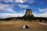LB00148-00...WYOMING - Devils Tower along the Joyner Ridge Trail in Devils Tower National Momument.