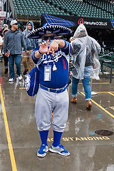 SAN FRANCISCO, CA - APRIL 09:  An Los Angeles Dodgers stands in the outfield bleachers before the game against the San Francisco Giants at AT&T Park on April 9, 2016 in San Francisco, California. The Los Angeles Dodgers defeated the San Francisco Giants 3-2 in 10 innings. (Photo by Jason O. Watson/Getty Images) *** Local Caption ***