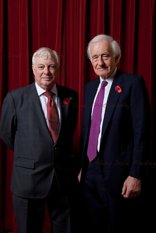 European Foreign Policy - is it Desirable and Possible. The Rt Hon Lord (Chris) Patten of Barnes CH (left) and Lord Wilson of Tillyorn