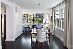 3819 Garfield Street, NW Washington, DC House architect design build Anthony Wilder Kitchen Dining Room