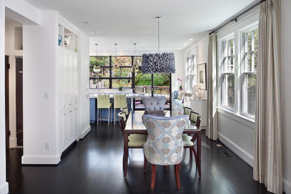 3819 Garfield Street, NW Washington, DC House architect design build Anthony Wilder Kitchen Dining Room