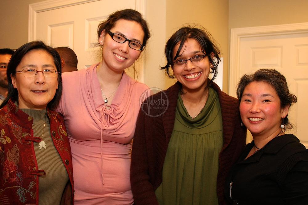 API Senior Staff reception Feb. 2010 at the home of Albert Shen.
