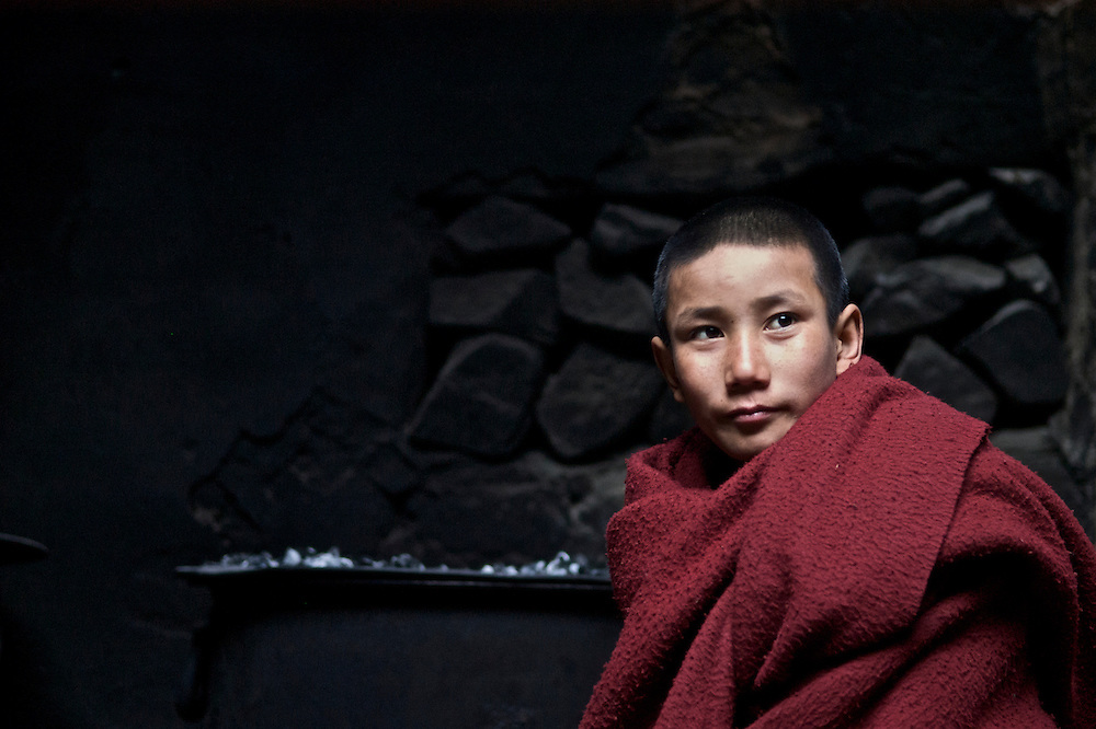 In Ladakh most families will send one of their children to the monastery to live out their life. Their is an intricate relationship between the monastic life and the local communities. Monks perform monthly pujas during the full moon and perform rights of marriage and burial.