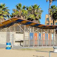 Santa Monica Beach Bathrooms, December 15. 2013.