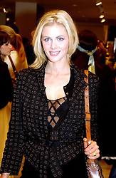 DONNA AIR at a party to celebrate the opening of the new H&M Flagship Store at 17-21 Brompton Road, London SW3 on 23rd March 2005.<br />