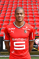 Jordan Tell during photoshooting of Stade Rennais for new season 2017/2018 on September 19, 2017 in Rennes, France. (Photo by Philippe Le Brech/Icon Sport)