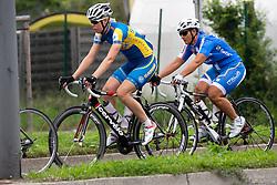 Cyclers at UCI amateur Road World Championship 2014 on August 31, 2014 in BTC City, Ljubljana, Slovenia. Photo by Matic Klansek Velej / Sportida.com