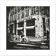 Boulangerie, Paris, France - Monochrome version. Inkjet pigment print on Canson Infinity Rag Photographique 310gsm 100% cotton museum grade Fine Art and photo paper.<br /> <br /> 8x8&quot; Prints: First print $49. Additional prints in same order $29. (A half inch white border is added for safe handling. Size with border 9x9&rdquo;).<br /> <br /> Frame-Ready Prints: Add $29 per print. Includes mounting on 12x12&rdquo; foam-board, plus white matboard with 8x8&rdquo; photo opening. Suits standard 12x12&rdquo; frames.<br /> <br /> Price includes GST &amp; postage within Australia. <br /> <br /> Order by email to orders@girtbyseaphotography.com  quoting image title or reference number, your contact details, delivery address &amp; preferred payment method (PayPal or Bank Deposit). You will be invoiced by return email. Normally ships within 7 days of payment.