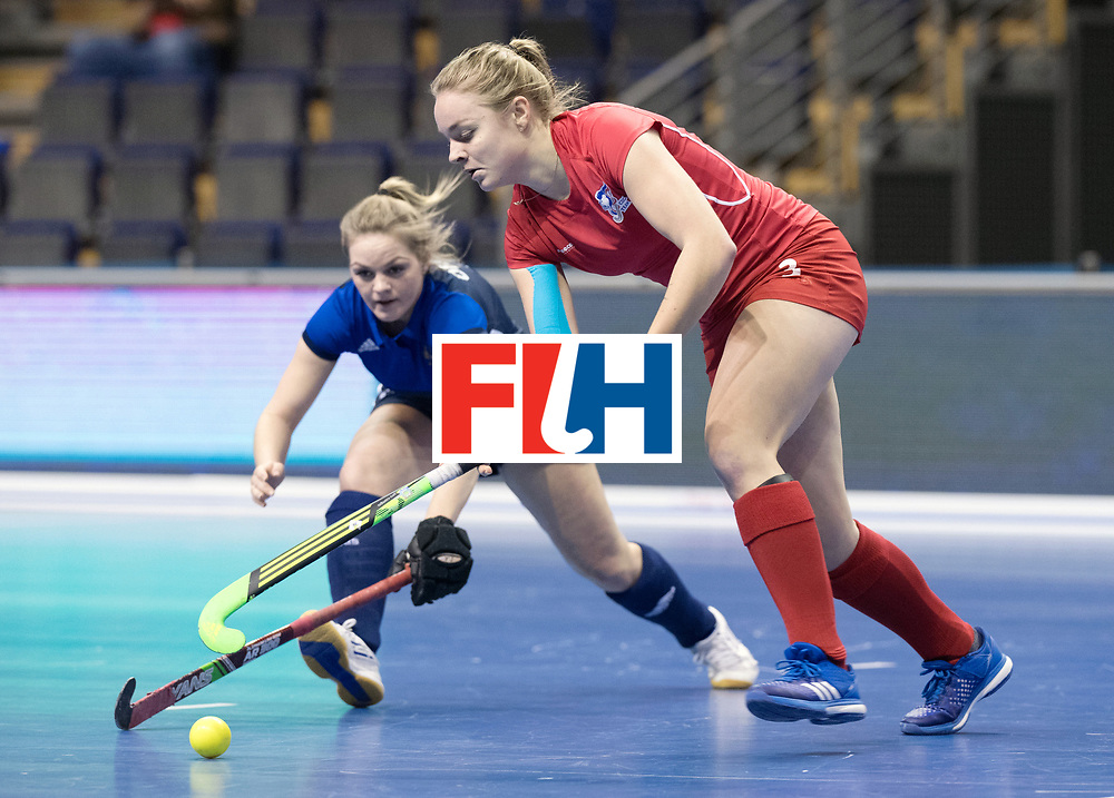 BERLIN - Indoor Hockey World Cup<br /> Women: Russia - Czech Republic<br /> foto: KOLAROVA Anna.<br /> WORLDSPORTPICS COPYRIGHT FRANK UIJLENBROEK