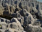 View of Pancake Rocks near Pukaiki, West Coast, New Zealand.