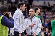 DESCRIZIONE : Beko Legabasket Serie A 2015- 2016 Dinamo Banco di Sardegna Sassari - Sidigas Scandone Avellino<br /> GIOCATORE : Denis Quarta Saverio Lanzarini<br /> CATEGORIA : Arbitro Referee Before Pregame<br /> SQUADRA : AIAP<br /> EVENTO : Beko Legabasket Serie A 2015-2016<br /> GARA : Dinamo Banco di Sardegna Sassari - Sidigas Scandone Avellino<br /> DATA : 28/02/2016<br /> SPORT : Pallacanestro <br /> AUTORE : Agenzia Ciamillo-Castoria/L.Canu
