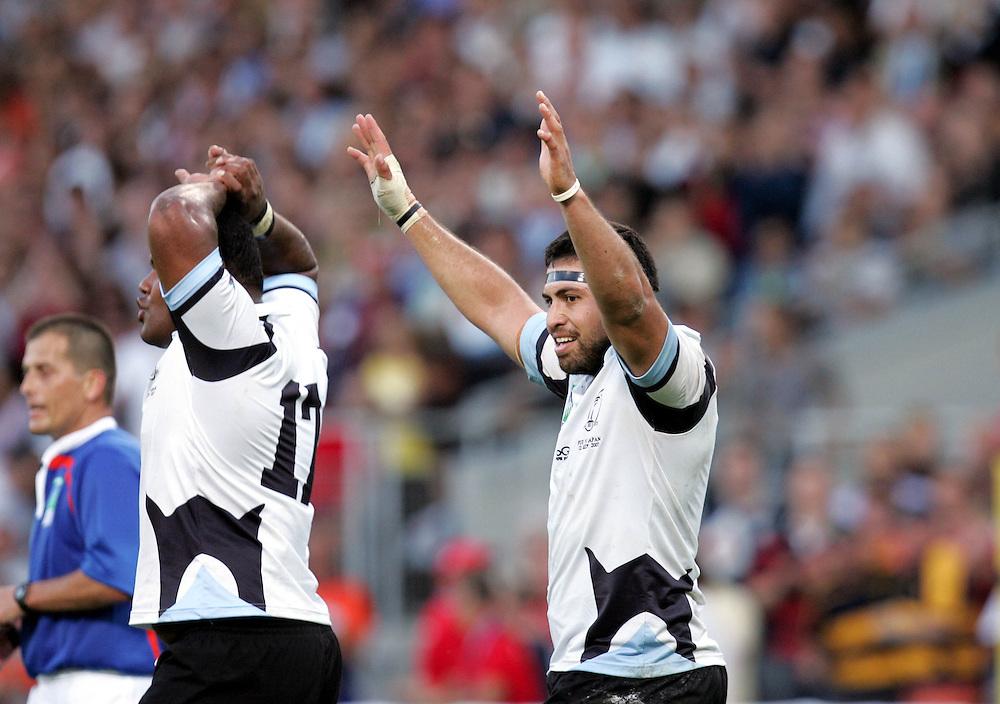 Japan v Fiji, Toulouse, 12th September 2007.