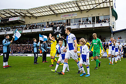 The tams emerge - Rogan Thomson/JMP - 31/12/2016 - FOOTBALL - Memorial Stadium - Bristol, England - Bristol Rovers v AFC Wimbledon - Sky Bet League One.