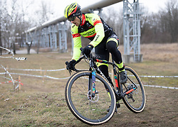 13.01.2019, Wien, AUT, ÖRV, Rad Radcross Staatsmeisterschaft, Herren Elite im Bild Daniel Federspiel (AUT, Team Vorarlberg Santic) // during mens elite cyclo cross championship, Vienna, Austria on 2019/01/03. EXPA Pictures © 2019, PhotoCredit: EXPA/ R. Eisenbauer