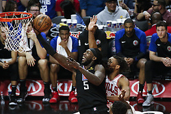 March 15, 2019 - Los Angeles, California, U.S - Los Angeles ClippersÃ• Montrezl Harrell (5) goes to basket during an NBA basketball game between Los Angeles Clippers and Chicago Bulls Friday, March 15, 2019, in Los Angeles. The Clippers won 128-121. (Credit Image: © Ringo Chiu/ZUMA Wire)