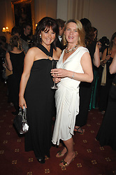 Left to right, DEBBIE WARREN and MAGGIE LINDSELL at the 2008 Berkeley Dress Show at the Royal Hospital Chelsea, London on 3rd April 2008.<br /><br />NON EXCLUSIVE - WORLD RIGHTS