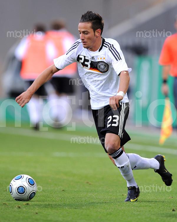 Fussball Nationalmannschaft :  Saison   2009/2010   04.09.2009 Fußball U21 : Deutschland - San Marino , GER - SM ,  Deniz Naki (GER)