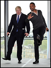 MAY 24 2013 Boris and Will Smith at City Hall
