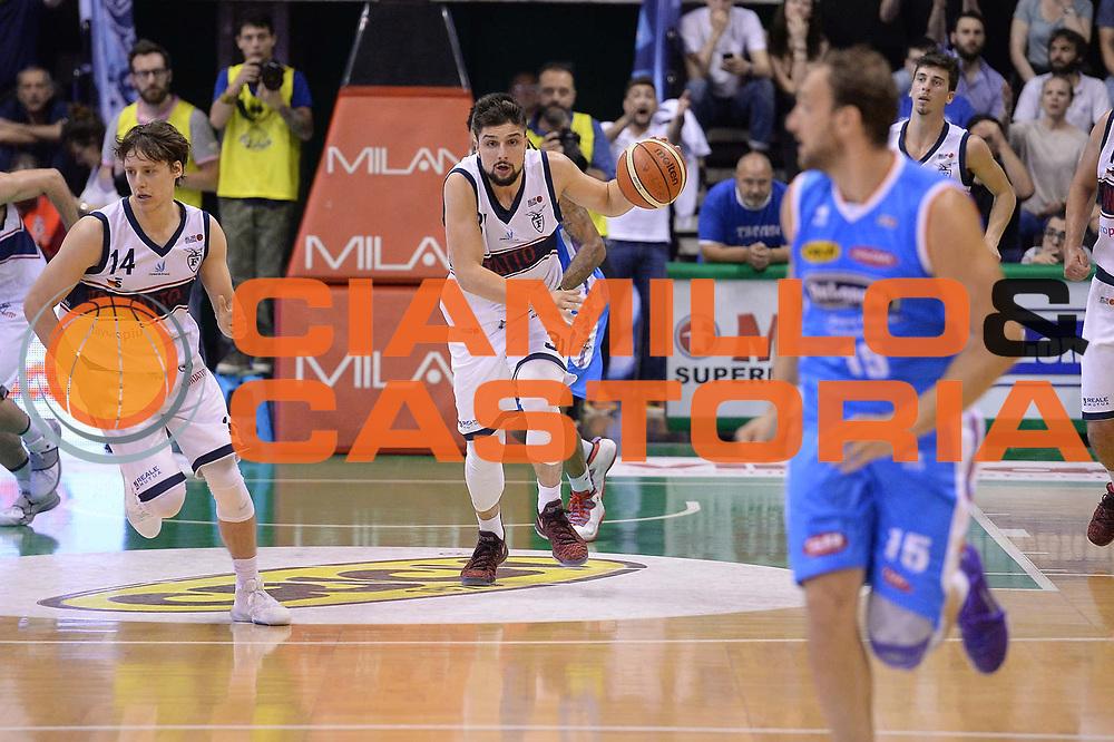 Italiano<br /> Treviso 17 Maggio  2017 -<br /> Campionato Basket Legadue - Play Off quarti Gara 2 - Treviso Basket  vs Kontatto Fortitudo Bologna<br /> Foto Ciamillo/Michele Gregolin