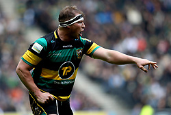 Dylan Hartley of Northampton Saints - Mandatory by-line: Robbie Stephenson/JMP - 16/04/2017 - RUGBY - StadiumMK - Milton Keynes, England - Northampton Saints v Saracens - Aviva Premiership