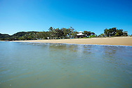 View from the beach of Villa Kembali, Horseshoe Bay, Magnetic Island, Queensland, Australia