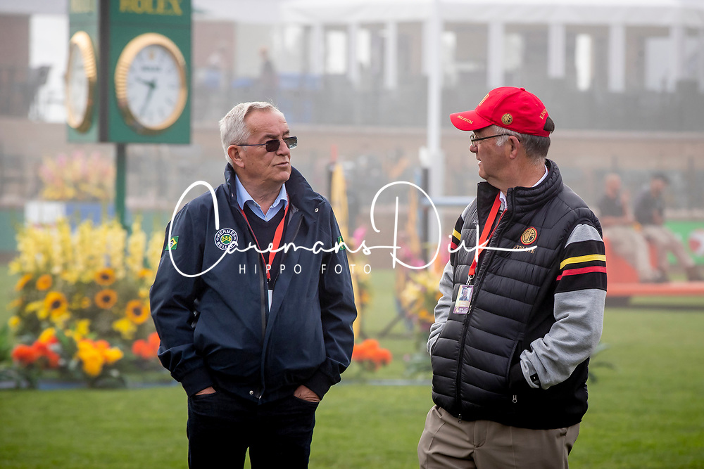 Guerdat Philippe, SUI, Weinberg Peter, GER<br /> Spruce Meadows Masters - Calgary 2019<br /> © Hippo Foto - Dirk Caremans<br />  07/09/2019