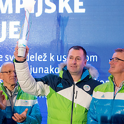 20180109: SLO, Olympic Games - Lighting of the OKS Olympic Flame