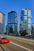 Chine, Hong Kong, Hong Kong Island, Queensway Road // China, Hong-Kong, Hong Kong Island, Queensway Road