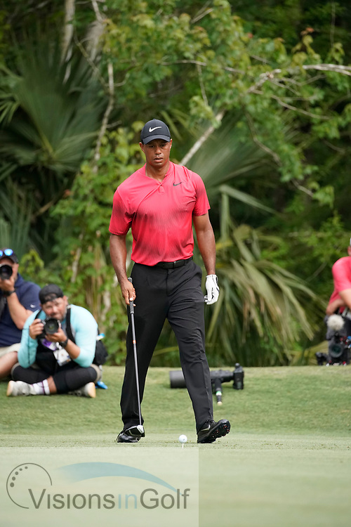 Tiger Woods swing sequence<br /> On the final day<br /> THE PLAYERS Championship 2018