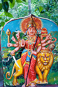 Kali shrine near Kumbalwela. On Kumbalwela - Ella Road.