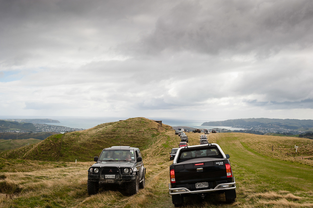 Coverage of the 4x4 Charity Event by the Rotary Club of Plimmerton and capture scenes where possible of the landscapes of Porirua City. Sunday April 29, 2012. ..Photo by Mark Tantrum | www.marktantrum.com