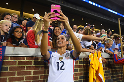 September 19, 2017 - Cincinnati, OH, USA - Cincinnati, OH - Tuesday September 19, 2017: Lynn Williams during an International friendly match between the women's National teams of the United States (USA) and New Zealand (NZL) at Nippert Stadium. (Credit Image: © Brad Smith/ISIPhotos via ZUMA Wire)