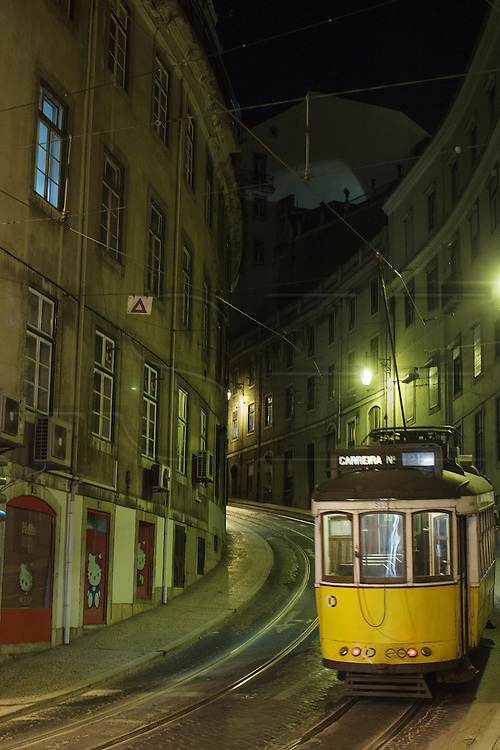 Lisbon tram line 28 passes through Chiado district and is the longest line of trams which cross the city.
