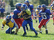 Goshen, NY - Washingtonville plays Goshen in an Orange County Youth Football League Division 2 game in Goshen on Sunday, Sept. 20, 2009.