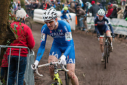 Bryan Falaschi (ITA), Men Elite, Cyclo-cross World Cup Hoogerheide, The Netherlands, 25 January 2015, Photo by Pim Nijland / PelotonPhotos.com