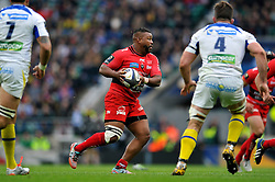 Steffon Armitage of Toulon - Photo mandatory by-line: Patrick Khachfe/JMP - Mobile: 07966 386802 02/05/2015 - SPORT - RUGBY UNION - London - Twickenham Stadium - ASM Clermont Auvergne v RC Toulon - European Rugby Champions Cup Final