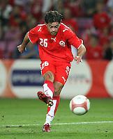 Fussball International Laenderspiel Schweiz 2-0 Costa Rica Alberto Regazzoni  (SUI) am Ball