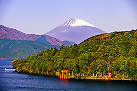 Lake Ashi (Fuji-san, Mt. Fuji in background), Hakone, Japan