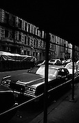 """Old car parked on Upper West Side of Manhattan...Part of long-term (2005-2008) story """"I See A Darkness"""". New York, NY."""